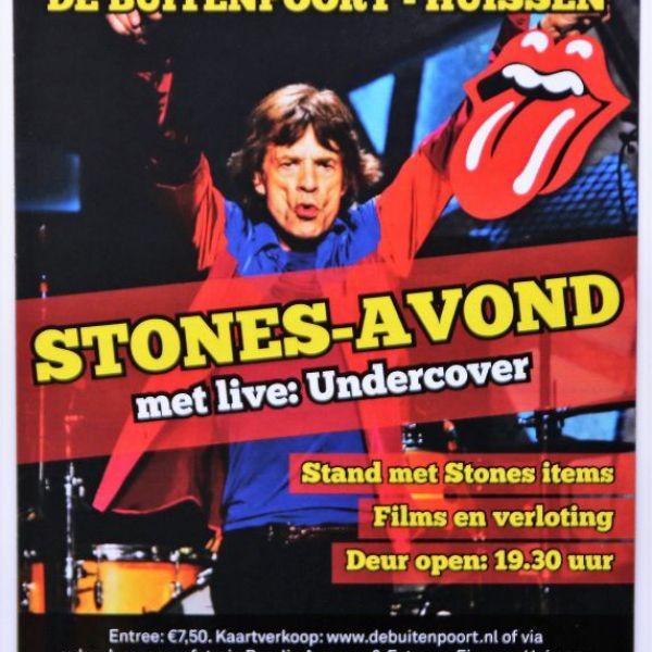 STONES-avond met Live: UNDERCOVER.