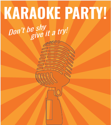 Karaoke party night vrijdag 8 februari