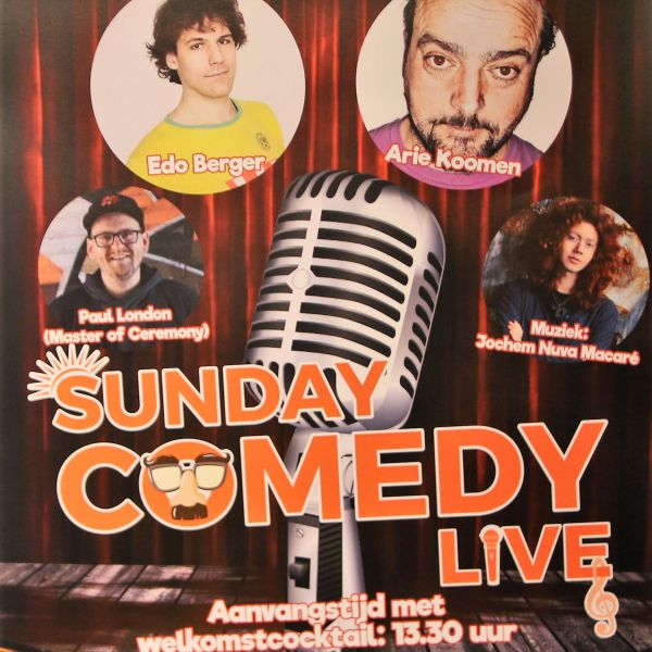 Sunday Comedy Live   24 februari