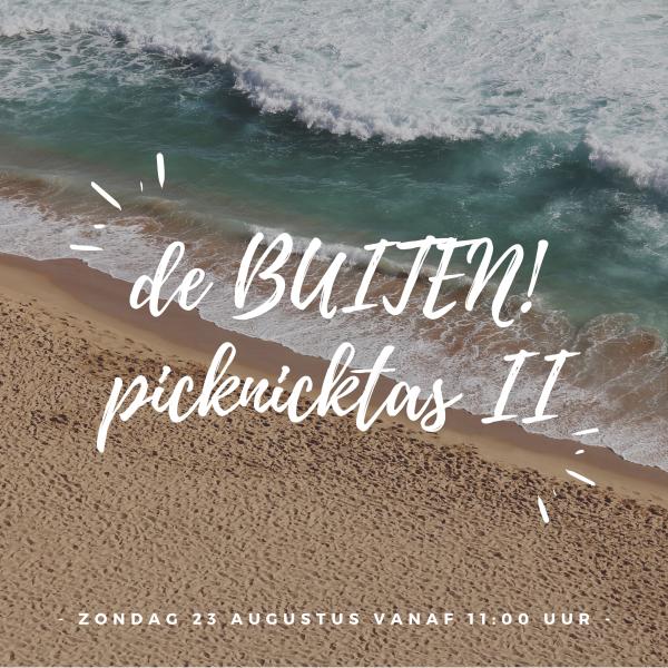 BUITEN!picknicktas II